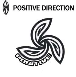 POSITIVE DIRECTIONロゴ